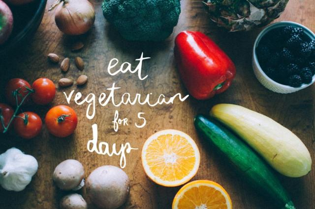 Eat Vegetarian For Five Days | Project Green