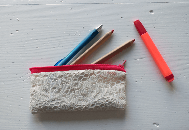 Lace Pencilcase by Hanna Ulala