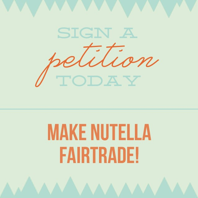 Make Nutella Fair Trade!