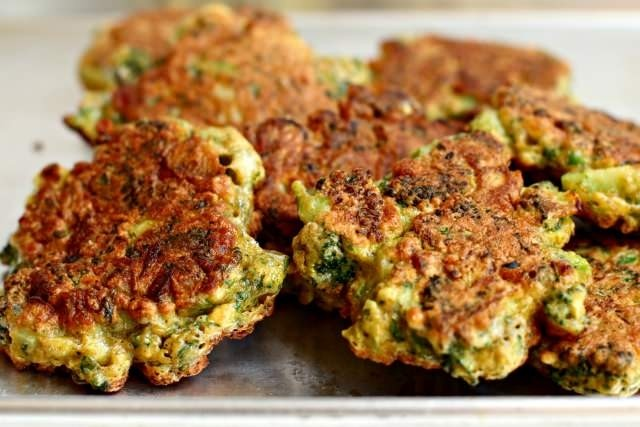 Jennifer's Spicy Broccoli Fritters
