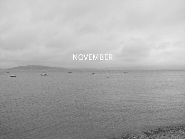 That was November | Hanna's Places