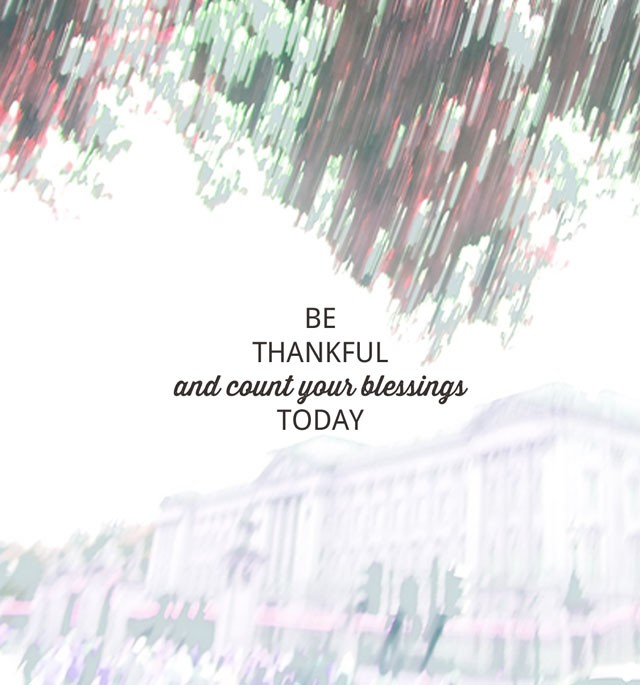 Practising Thankfulness