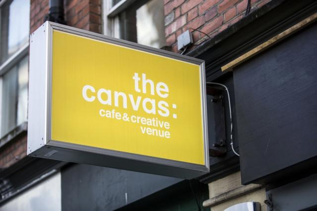 The Canvas Cafe, London. Photograph by Felix Clay