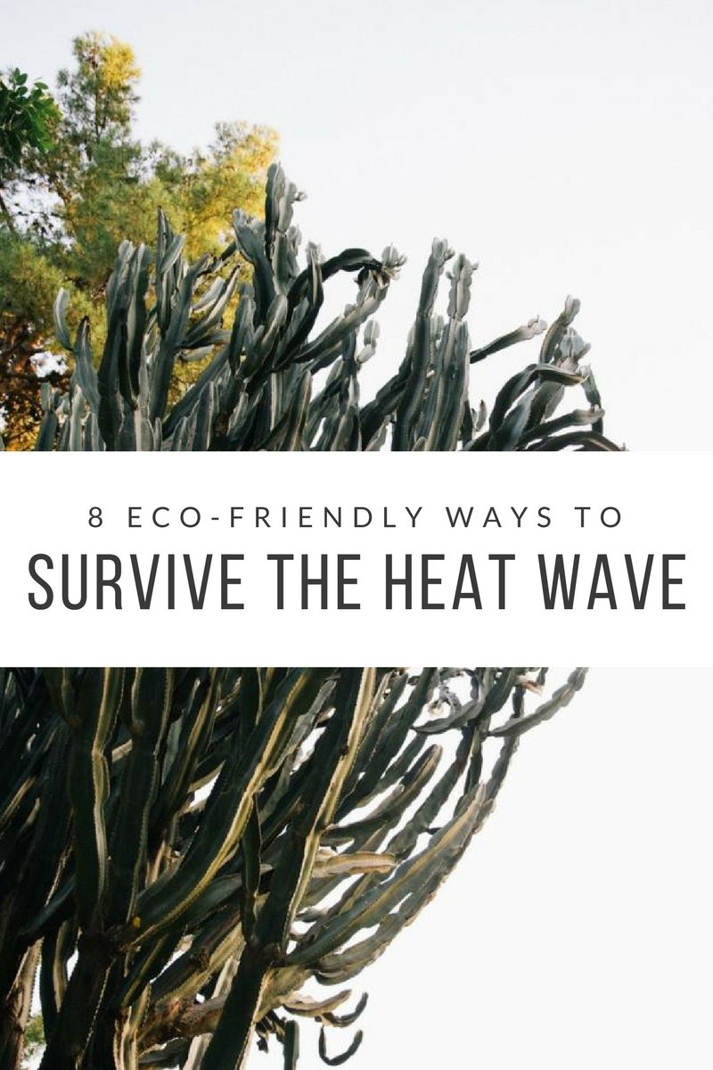 8 eco-friendly ways to survive the heat wave