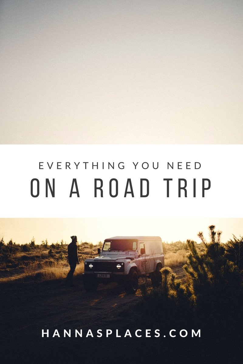 Everything you need on a road trip