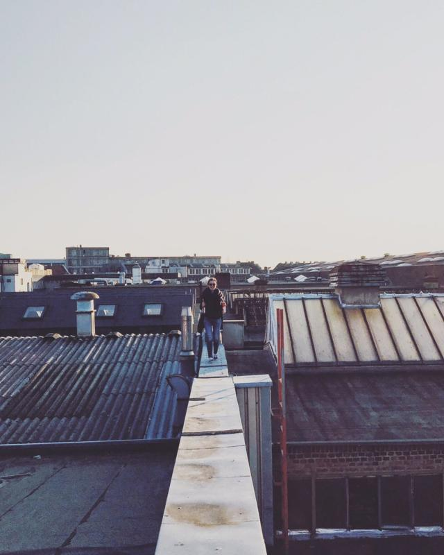 Hanging out on rooftops | Hanna's Places
