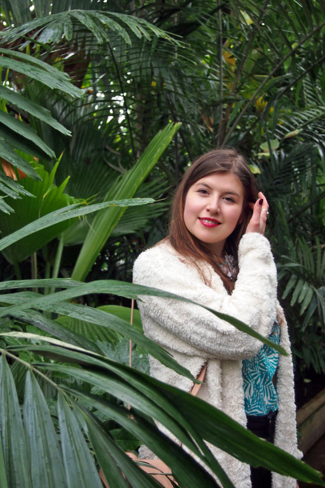 Fair Fashion Outfit: Palms in Kew Gardens