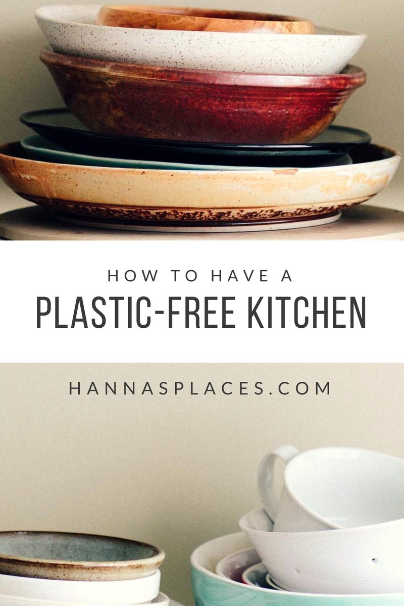 How to have a plastic-free kitchen - Hanna's Places