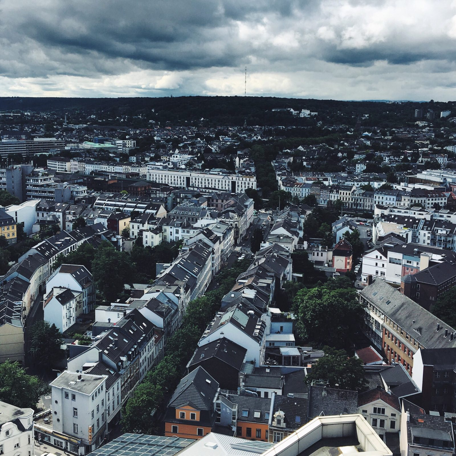 The view over Bonn from Stadthaus