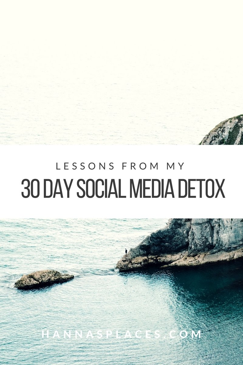 Lessons from my 30 day social media detox