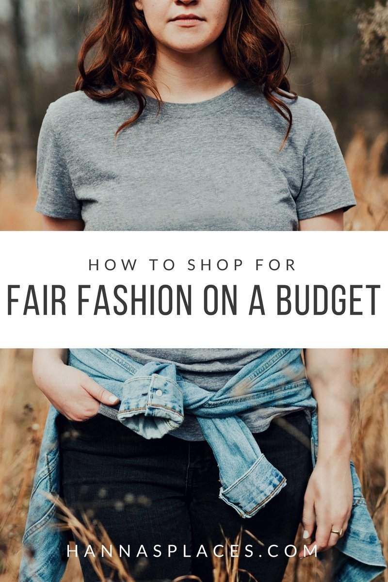 How to buy eco fashion on a budget
