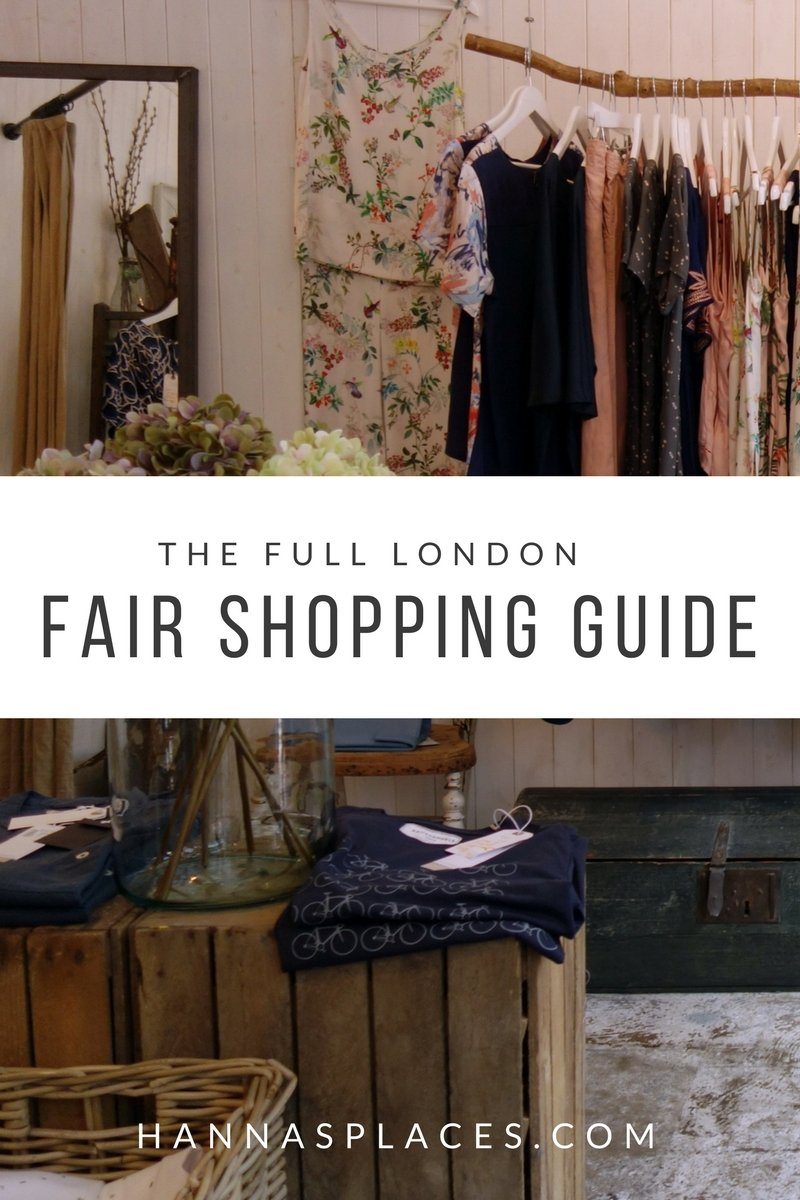 The full London fair shopping guide