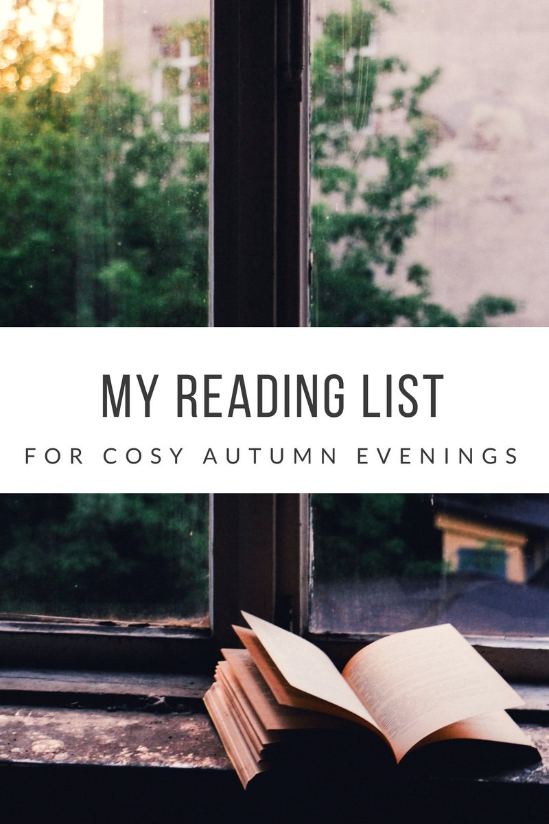 My autumn reading list for cosy evenings